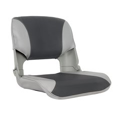 Skipper Boat Seat  Grey/Charcoal